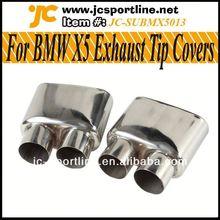 For BMW X5 E70 X5 E70 Muffler Exhaust Tips,X5 car exhausts pipe
