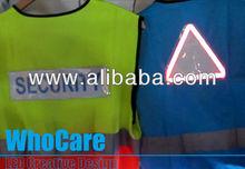 EL safely flashing vest, Yellow reflective vest, Reflective safety vest, LED vest, EV 101