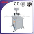 Semi- automatico pequeña botella de lavado de la máquina de chorro lavadora de botellas