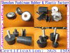 "1/2"" 1"" 2"" 3"" rubber isolator producer Vibration M damping mounts with galvanised oval base vibration absorbing mounts"