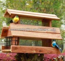 Hot Selling stand wooden bird house,Wooden Bird House,
