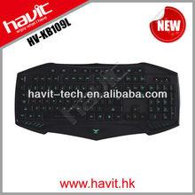 HAVIT LED backlit Multimedia gaming keyboard