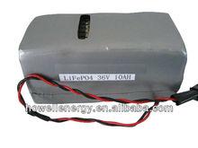 LiFePO4 battery pack 36V 20Ah for fork truck