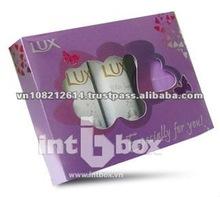 Cosmetic Box gift box metalic packaging screen UV packaging