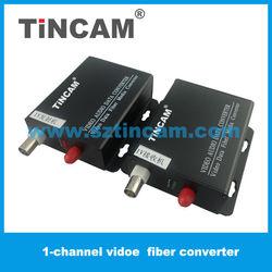 1Ch Video +1 Audio+1 Data Digital coaxial cable Fiber Optical Transmitter/Receiver