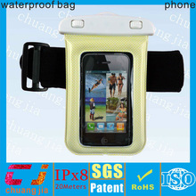 IPX8 unbreakable waterproof phone case for iphone with lanyard