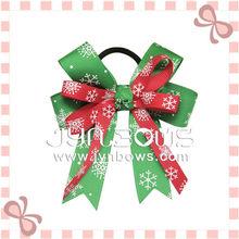 Fashion grosgrain girls riobbon hair christmas decoration