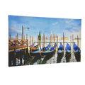 Pintura al óleo lienzo barcos/clásico de artes de la pared/a prueba de agua pintura de barco de las artes