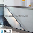 High quality price parapet glass of tempered with ISO CCC CE