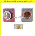 engraçado mini plástico wind up máquina de lavar roupa máquina de lavar de brinquedo dos doces de fábrica