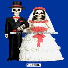 2013 Brand New Resin Married Skeleton Model Wedding Decoration