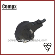 UK BS Standard 3 pin plug uk bs power cord