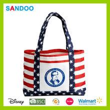 2015 wholesale BSCI factory ladies handbag shopping tote bag handbags