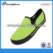 nova moda verde eva tamancos