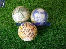 Design lovely basketball golf balls