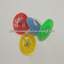 Different colors plastic cap nails supplies