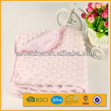 sew baby minky blanket dot