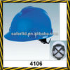 ABS material safety helmet woven fabric lining with ratched