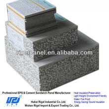 Sandwich panel roofing metal cladding panel polystyrene sandwich panel suppliers