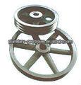 2014 03 nuevo- hzpt rueda de la polea/polea de plástico/poleas para la venta