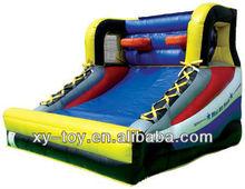 Basketball throw games, inflatable basketball hoop, mini all stars