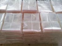 OPP plastic adhesive tape packaging bag/ transparent bag/packing bag