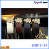 Fashion Metal leopard Head Charm Bracelets or Black PU Leather Bracelets Personalized wide leather bracelets
