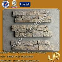 Natural yellow granite rock stone cladding