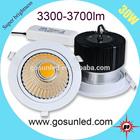 3300-3600lm 30W LED COB downlight