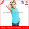 100 cotton v neck t shirts manufacturers in china for women