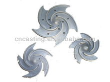 Stainless Steel guide impeller 1.5*3-6 casting