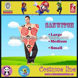 2013 Cotton Sanwitch Food Adult Costume
