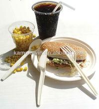 Китая лучшее качество биоразлагаемый экологичный посуда, Одноразовые, Низкая цена