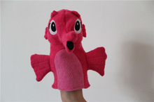 China cute plush sea horse hand puppet