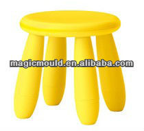 low cost plastic children blowing stool mould