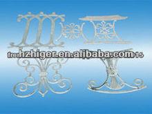 high quality aluminum die casting /furniture part/ aluminum chair parts