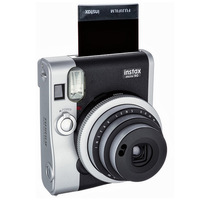 Fuji Fujifilm Instant Neo Classic Film Instax Mini 90 Camera Silver Black