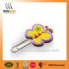 paper clip cute butterfly design