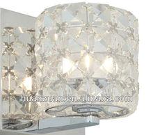 mosaic crystal bathroom and corrior wall light with led light