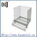 Armazém recipiente do fio gaiola hsx-s532 aço gaiolas de armazenamento