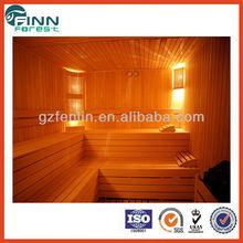 Traditional steam bath sauna room 6 person(customized) use dry steam sauna room steam shower cabin sauna
