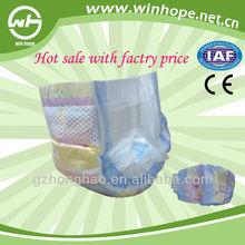 2015 win hope hot sale disposable baby diaper disposal