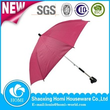 Auto Open Lovely Baby Stroller Clamp Straight Umbrella