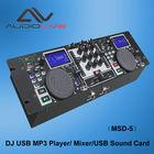 China manufacturer supply Professional Audio DJ USB MP3 Player / Mixer / USB Sound Card