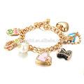 الأزياء والمجوهرات المينا سوار، الأزياء والمجوهرات سوار الذهب مطلي 18k fb048