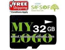32GB Micro SD Memory card With your own printed LOGO Free Shipping