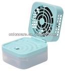 WIND-MIST USB Mini Mist Fan & Humidifier with Electric Aroma Diffuser