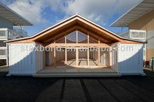 Modern prefab house/prefabricated modular homes/container house