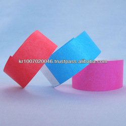 color tyvek wristbands