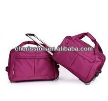 Fashion travel bag on wheels